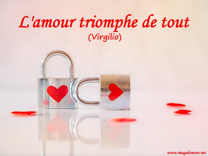 Image d'amour et de coeur