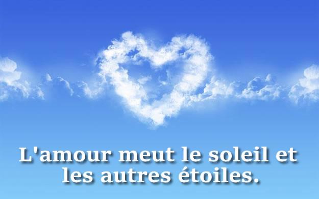 Image phrase de amour