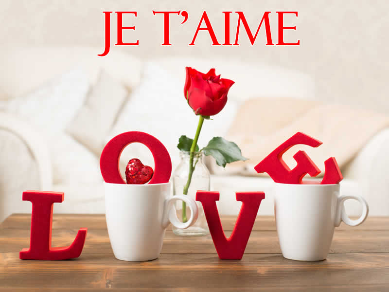 Photo d'amour je t'aime