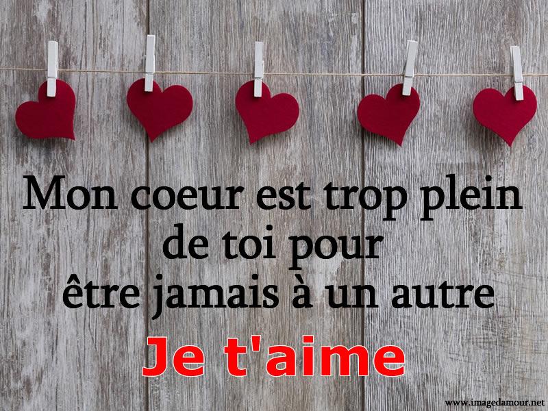 Photo Message d'amour